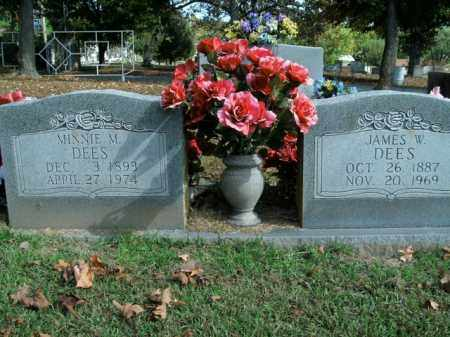 DEES, JAMES W. - Boone County, Arkansas | JAMES W. DEES - Arkansas Gravestone Photos