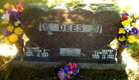 DEES, MAUDIE  P. - Boone County, Arkansas | MAUDIE  P. DEES - Arkansas Gravestone Photos
