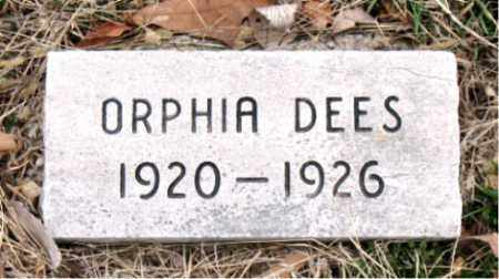 DEES, ORPHIA - Boone County, Arkansas | ORPHIA DEES - Arkansas Gravestone Photos