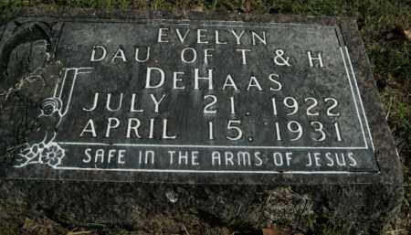 DEHAAS, EVELYN - Boone County, Arkansas | EVELYN DEHAAS - Arkansas Gravestone Photos