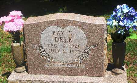 DELK, RAY D - Boone County, Arkansas | RAY D DELK - Arkansas Gravestone Photos