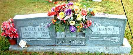 DELONG, RAMA LEE - Boone County, Arkansas | RAMA LEE DELONG - Arkansas Gravestone Photos