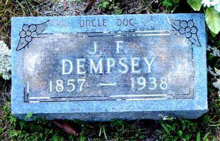 DEMPSEY, J.  F. - Boone County, Arkansas | J.  F. DEMPSEY - Arkansas Gravestone Photos