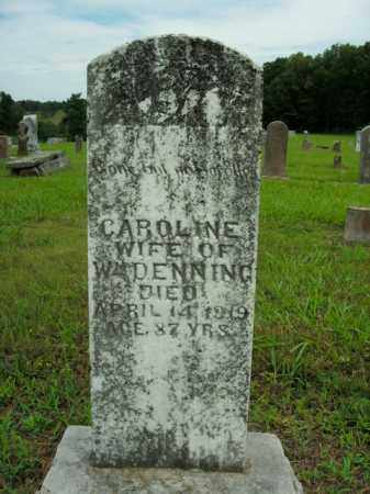DENNING, CAROLINE - Boone County, Arkansas | CAROLINE DENNING - Arkansas Gravestone Photos