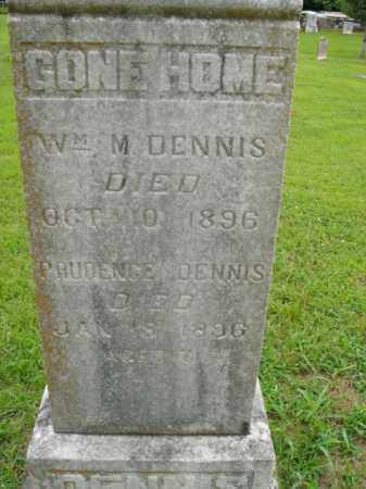 DENNIS, WM. M. - Boone County, Arkansas | WM. M. DENNIS - Arkansas Gravestone Photos