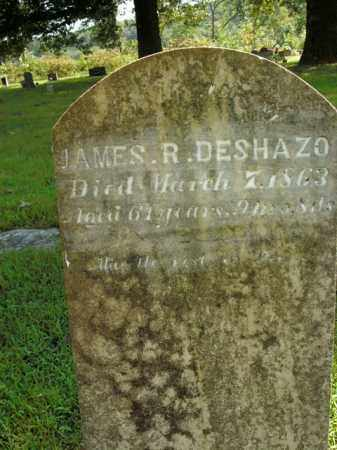 DESHAZO, JAMES R. - Boone County, Arkansas | JAMES R. DESHAZO - Arkansas Gravestone Photos
