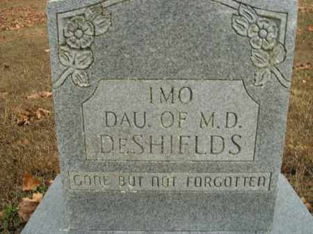 DESHIELDS, IMO - Boone County, Arkansas | IMO DESHIELDS - Arkansas Gravestone Photos