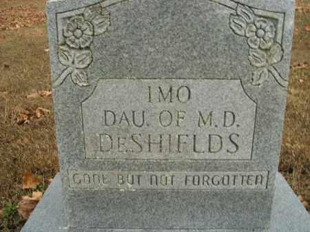 DESHIELDS, IMO - Boone County, Arkansas | IMO DESHIELDS - Arkansas Gravestone Photos