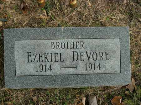DEVORE, EZEKIEL - Boone County, Arkansas | EZEKIEL DEVORE - Arkansas Gravestone Photos