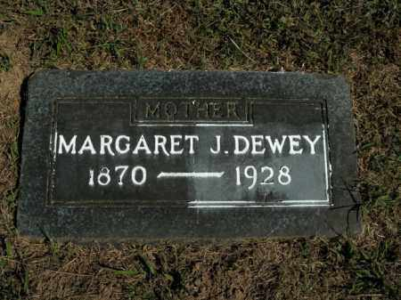 DEWEY, MARGARET J. - Boone County, Arkansas | MARGARET J. DEWEY - Arkansas Gravestone Photos