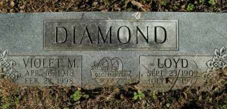 DIAMOND, VIOLET M. - Boone County, Arkansas | VIOLET M. DIAMOND - Arkansas Gravestone Photos