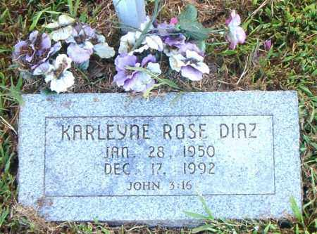 DIAZ, KARLEYNE ROSE - Boone County, Arkansas | KARLEYNE ROSE DIAZ - Arkansas Gravestone Photos