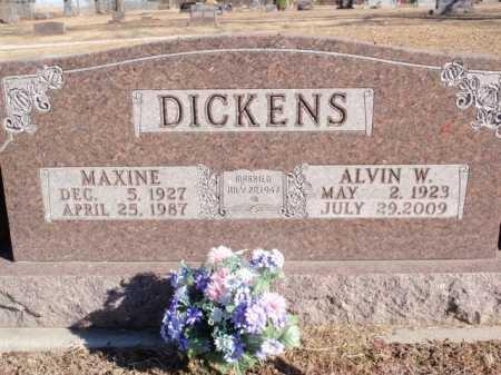 DICKENS, MAXINE - Boone County, Arkansas | MAXINE DICKENS - Arkansas Gravestone Photos