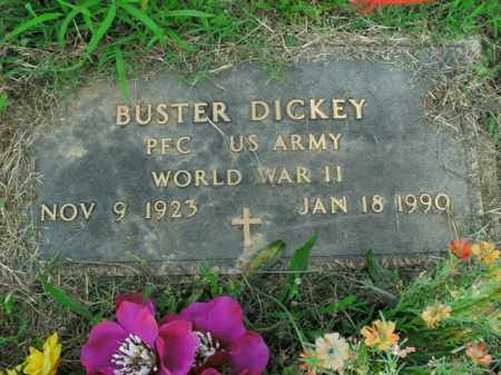 DICKEY  (VETERAN WWII), BUSTER - Boone County, Arkansas | BUSTER DICKEY  (VETERAN WWII) - Arkansas Gravestone Photos