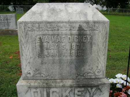 DICKEY, EVA MAE - Boone County, Arkansas | EVA MAE DICKEY - Arkansas Gravestone Photos
