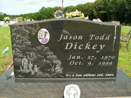 DICKEY, JASON TODD - Boone County, Arkansas | JASON TODD DICKEY - Arkansas Gravestone Photos