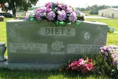 HUDSON DIETZ, KATIE FLORENE - Boone County, Arkansas | KATIE FLORENE HUDSON DIETZ - Arkansas Gravestone Photos