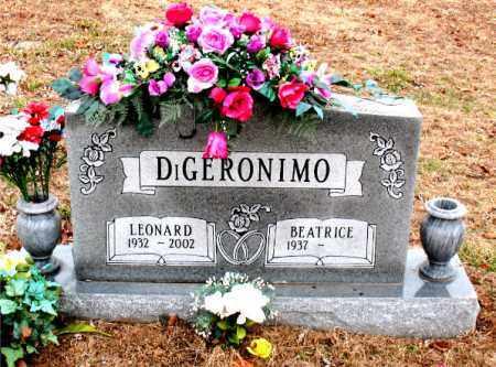 DIGERONIMO, LEONARD - Boone County, Arkansas   LEONARD DIGERONIMO - Arkansas Gravestone Photos