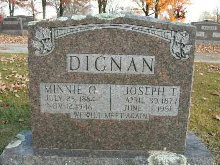 DIGNAN, MINNIE O. - Boone County, Arkansas | MINNIE O. DIGNAN - Arkansas Gravestone Photos