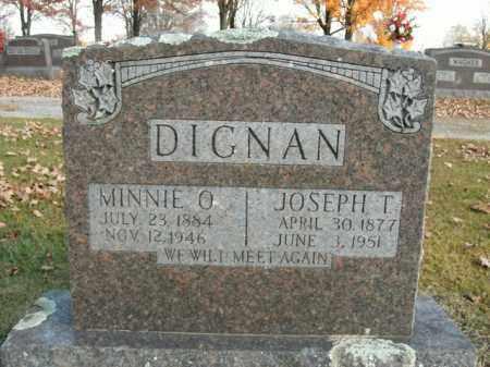 DIGNAN, JOSEPH T. - Boone County, Arkansas | JOSEPH T. DIGNAN - Arkansas Gravestone Photos