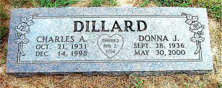 DILLARD, DONNA  J. - Boone County, Arkansas | DONNA  J. DILLARD - Arkansas Gravestone Photos