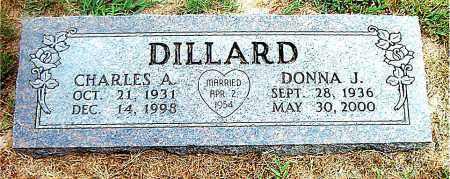 DILLARD, CHARLES A. - Boone County, Arkansas | CHARLES A. DILLARD - Arkansas Gravestone Photos