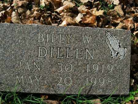 DILLEN, BILLY W. - Boone County, Arkansas | BILLY W. DILLEN - Arkansas Gravestone Photos