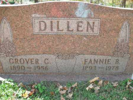 DILLEN, GROVER C. - Boone County, Arkansas | GROVER C. DILLEN - Arkansas Gravestone Photos