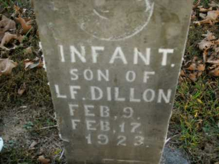 DILLON, INFANT SON - Boone County, Arkansas | INFANT SON DILLON - Arkansas Gravestone Photos