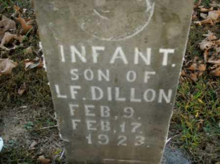 DILLON, INFANT SON - Boone County, Arkansas | INFANT SON DILLON - Arkansas Gravestone Photos