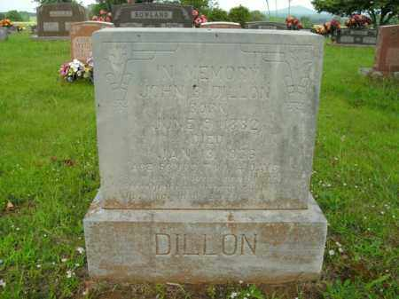 DILLON, JOHN B. - Boone County, Arkansas | JOHN B. DILLON - Arkansas Gravestone Photos