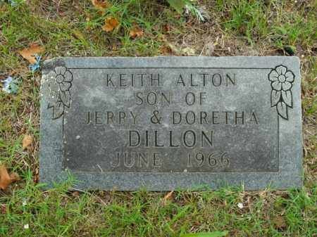 DILLON, KEITH ALTON - Boone County, Arkansas | KEITH ALTON DILLON - Arkansas Gravestone Photos