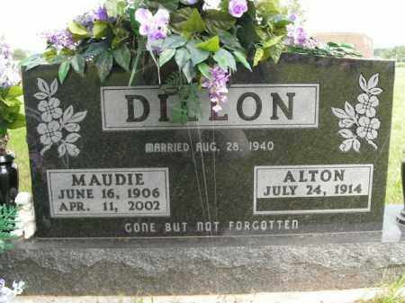 DILLON, MAUDIE - Boone County, Arkansas | MAUDIE DILLON - Arkansas Gravestone Photos