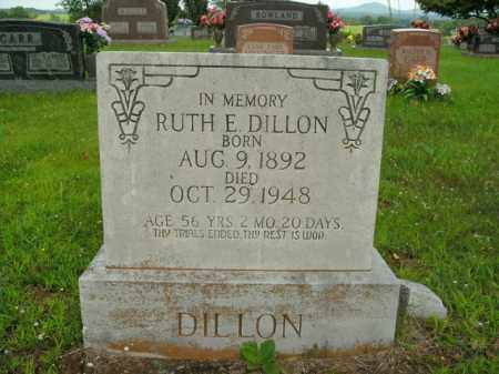 DILLON, RUTH E. - Boone County, Arkansas | RUTH E. DILLON - Arkansas Gravestone Photos