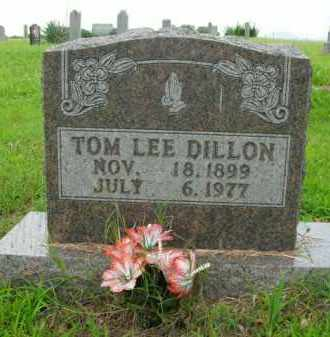 DILLON, TOM LEE - Boone County, Arkansas | TOM LEE DILLON - Arkansas Gravestone Photos