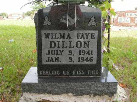 DILLON, WILMA FAYE - Boone County, Arkansas | WILMA FAYE DILLON - Arkansas Gravestone Photos
