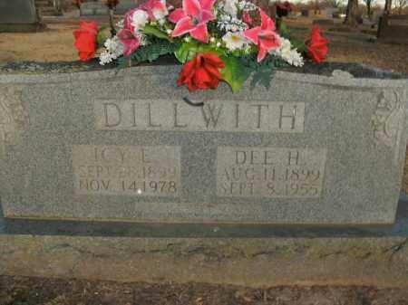 DILLWITH, ICY E. - Boone County, Arkansas | ICY E. DILLWITH - Arkansas Gravestone Photos