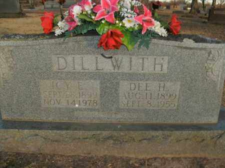 DILLWITH, ICY E. - Boone County, Arkansas | ICY E. DILLWITH - Arkansas Gravestone Photos