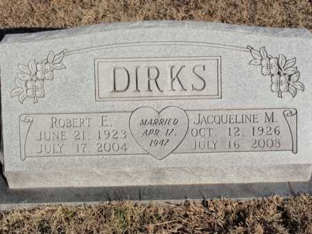 DIRKS, ROBERT  E. - Boone County, Arkansas | ROBERT  E. DIRKS - Arkansas Gravestone Photos