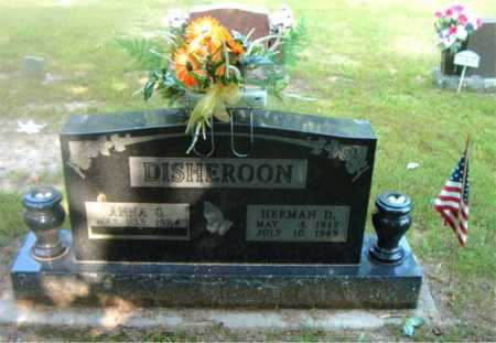DISHEROON, HERMAN DALE - Boone County, Arkansas | HERMAN DALE DISHEROON - Arkansas Gravestone Photos