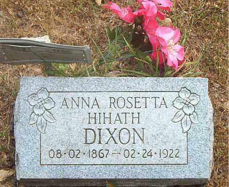 DIXON, ANNA ROSETTA - Boone County, Arkansas | ANNA ROSETTA DIXON - Arkansas Gravestone Photos