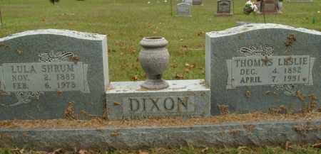 DIXON, THOMAS LESLIE - Boone County, Arkansas | THOMAS LESLIE DIXON - Arkansas Gravestone Photos