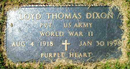 DIXON  (VETERAN WWII), LOYD THOMAS - Boone County, Arkansas | LOYD THOMAS DIXON  (VETERAN WWII) - Arkansas Gravestone Photos