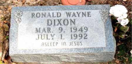 DIXON, RONALD WAYNE - Boone County, Arkansas | RONALD WAYNE DIXON - Arkansas Gravestone Photos