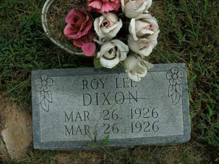 DIXON, ROY LEE - Boone County, Arkansas | ROY LEE DIXON - Arkansas Gravestone Photos