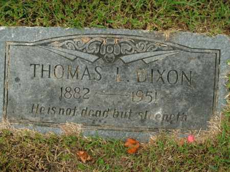 DIXON, THOMAS L. - Boone County, Arkansas | THOMAS L. DIXON - Arkansas Gravestone Photos