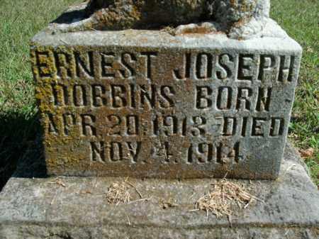 DOBBINS, ERNEST JOSEPH - Boone County, Arkansas | ERNEST JOSEPH DOBBINS - Arkansas Gravestone Photos
