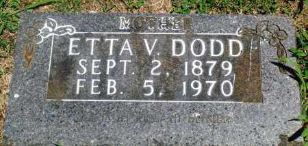 DODD, ETTA V - Boone County, Arkansas | ETTA V DODD - Arkansas Gravestone Photos