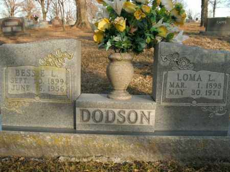 DODSON, LOMA L. - Boone County, Arkansas | LOMA L. DODSON - Arkansas Gravestone Photos