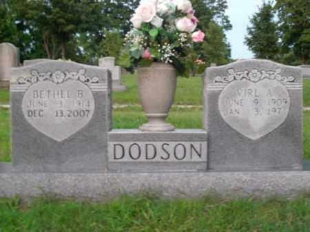 DODSON, VIRL A. - Boone County, Arkansas | VIRL A. DODSON - Arkansas Gravestone Photos